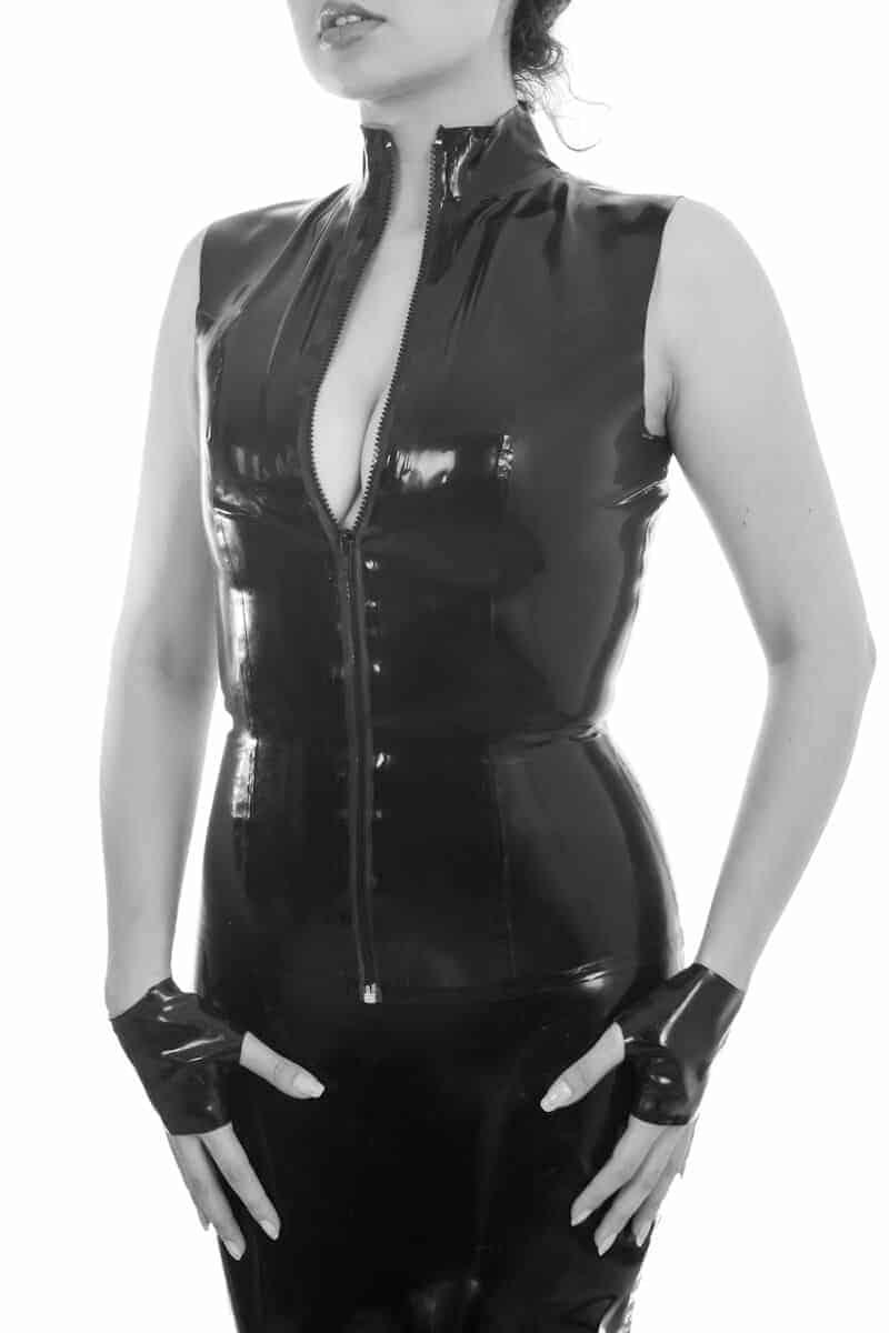 latex discipline - tops, playeras y tank tops de latex en méxico para mujer